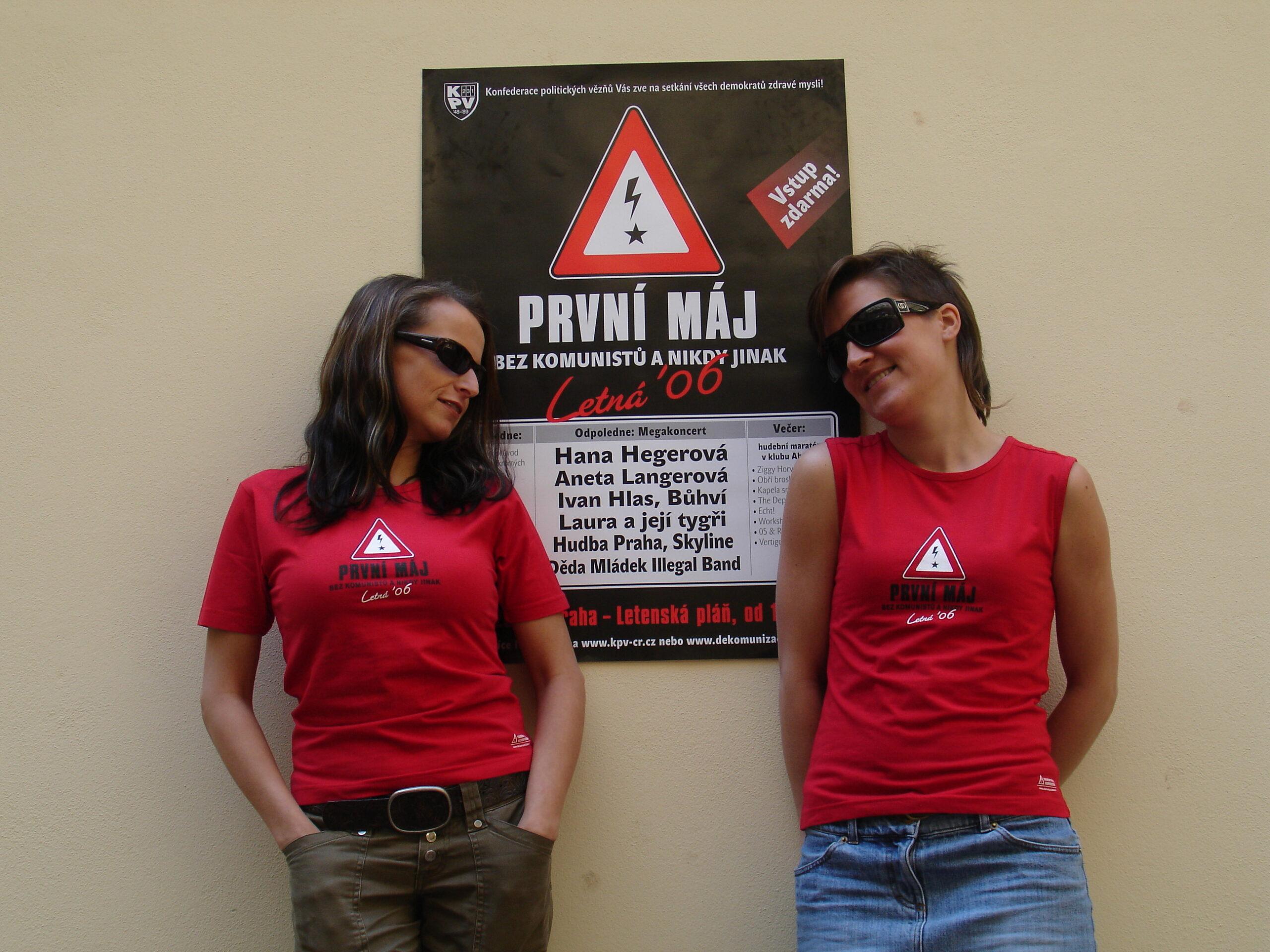 1. Máj 2006 – jak jsme komunistům vyfoukli Letnou
